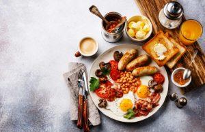 En solid start på dagen med engelsk morgenmad