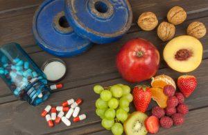 Sund og stærk med økologisk kosttilskud