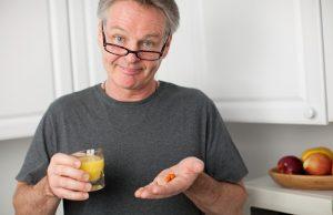 Styrk dit helbred, mand - vitaminer for mænd